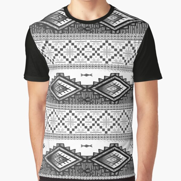 Traditional Pattern Graphic T-Shirt