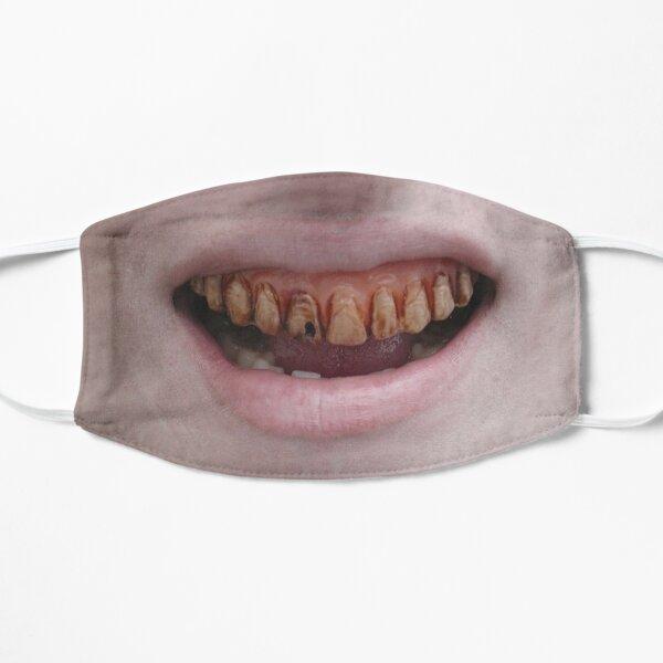 Bad Teeth Mask Flat Mask