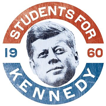 John F. Kennedy 'Students for Kennedy' 1960 Presidential Campaign by retrocampaigns