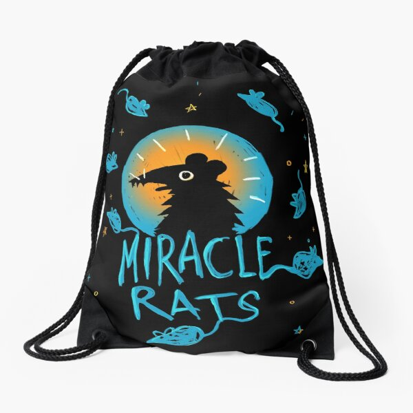 Night In The Woods Miracle Rats Drawstring Bag
