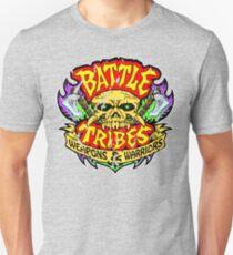 Battle Tribes Skull Logo (Distressed) Unisex T-Shirt