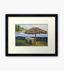By the Ocean Framed Print