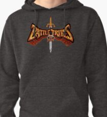 Battle Tribes Sword Logo (Distressed) Pullover Hoodie
