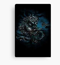 The Devil in the Deep Blue Sea Canvas Print