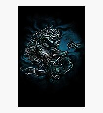 The Devil in the Deep Blue Sea Photographic Print