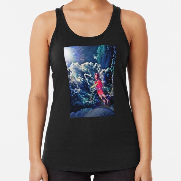 Behold, This Dreamer Cometh... Racerback Tank Top