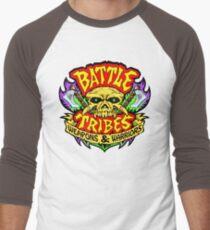 Battle Tribes Skull Logo Baseball ¾ Sleeve T-Shirt