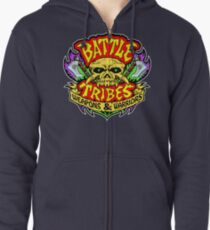 Battle Tribes Skull Logo Zipped Hoodie