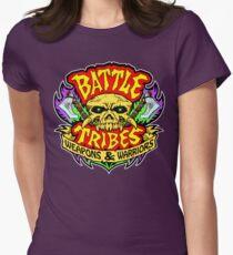 Battle Tribes Skull Logo Women's Fitted T-Shirt