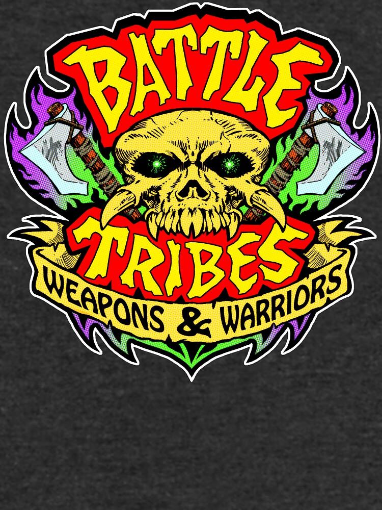 Battle Tribes Skull Logo by spymonkey