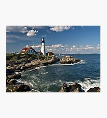 Portland Head Light - Maine Photographic Print