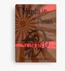 Murder of Crows Metal Print