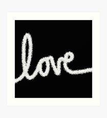 Love Is The Word Art Print