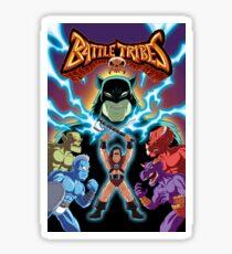 Battle Tribes Illustration  Sticker