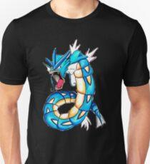 Gyarados watercolor Unisex T-Shirt