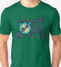 My Ideas Wake Me. Unisex T-Shirt