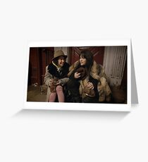 Broad City Pilot Greeting Card