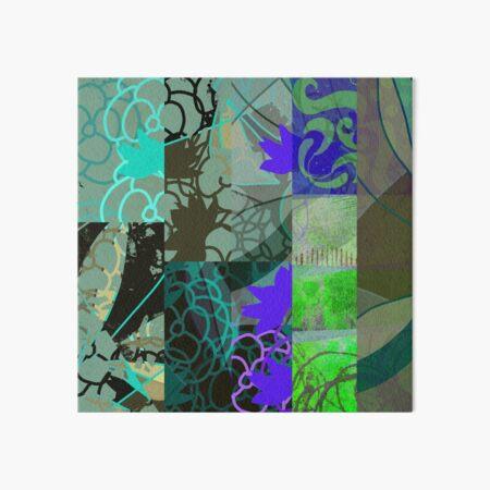 Organic Geometry Abstract Art Design Art Board Print