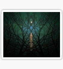 Embrace The Night Sticker