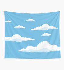 Tela decorativa Las nubes de los Simpson
