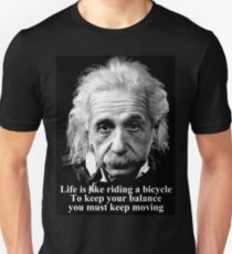 Life is like riding a bicycle Unisex T-Shirt