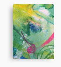 Secret Springtime Maps #3 Canvas Print