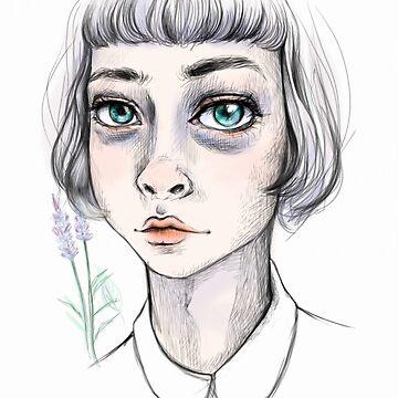 girl in lavender by livintune