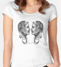 Mirror, Mirror Women's Fitted Scoop T-Shirt