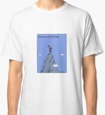 Woman with Altitude - Full colour Classic T-Shirt