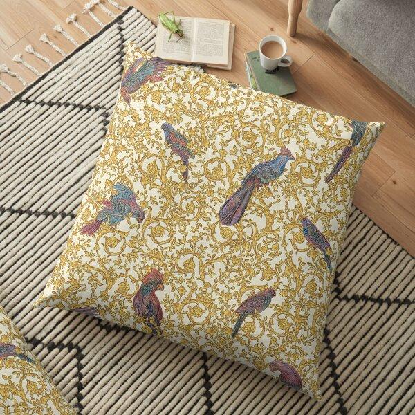 pájaro barroco Cojines de suelo