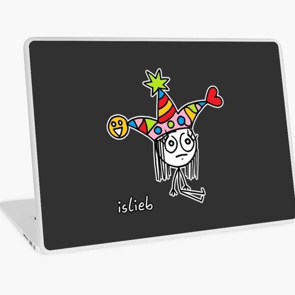 Lustiger Hut Laptop Folie