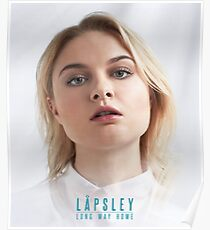 Lapsley - Long Way Home Poster