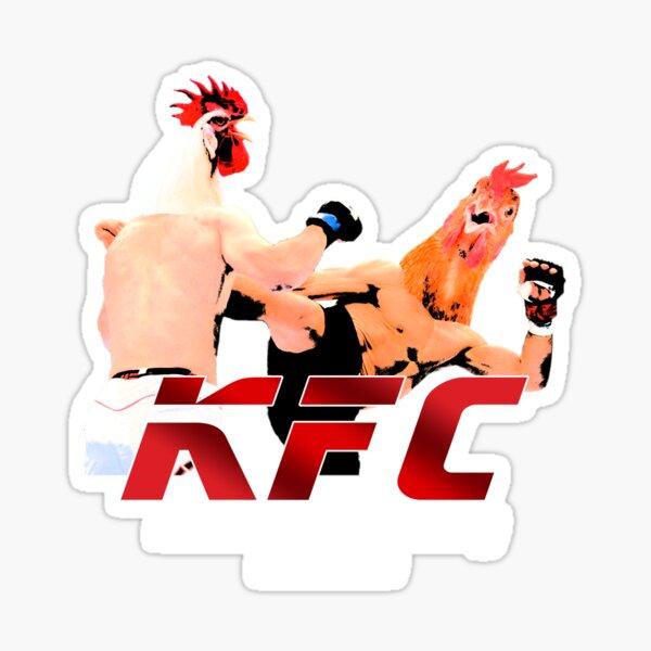 Kentucky Fighting Chicken Sticker