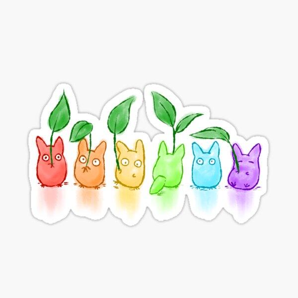 TotoRainbow Sticker