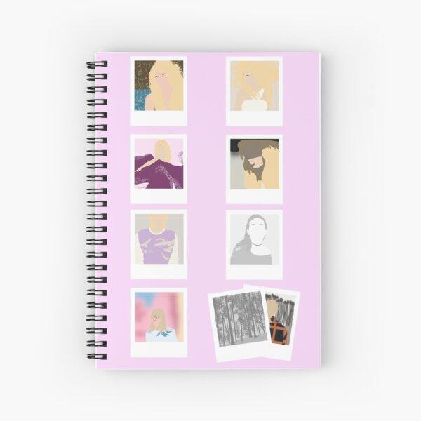 Discographie de Taylor Swift (jusqu'à présent) - Polaroid Edition Cahier à spirale