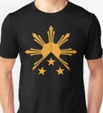 Tribal Philippines Filipino Sun and Stars Flag T-Shirt