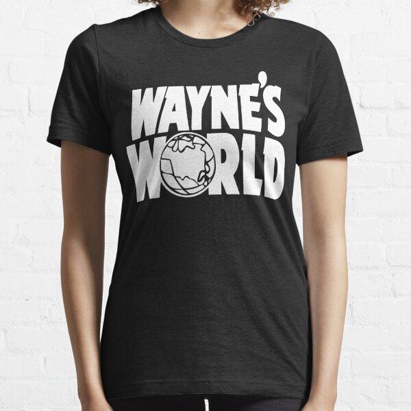 Wayne/'s World T shirt Parti sur Wayne Enfants Garçons Filles Wayne World tshirt