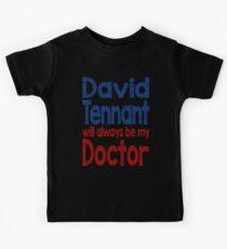 Dr. David Tennant Kids Tee