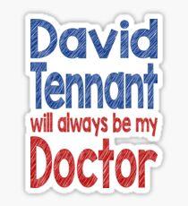 Dr. David Tennant Sticker