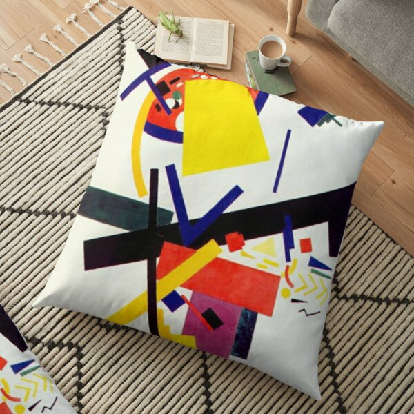 Супрематизм: Kazimir Malevich Suprematism Work Floor Pillow