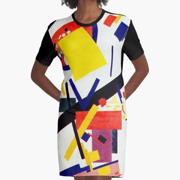 Супрематизм: Kazimir Malevich Suprematism Work Graphic T-Shirt Dress