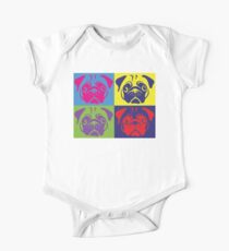 Pug Pop Art By AiReal Apparel Kids Clothes