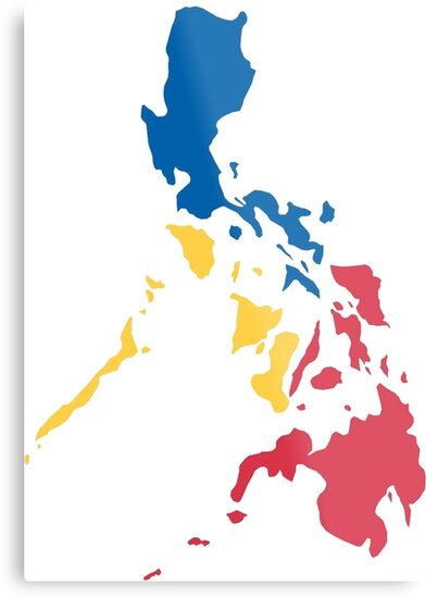 Philippines filipino map sun and stars flag metal prints by philippines filipino map sun and stars flag by airealapparel publicscrutiny Images