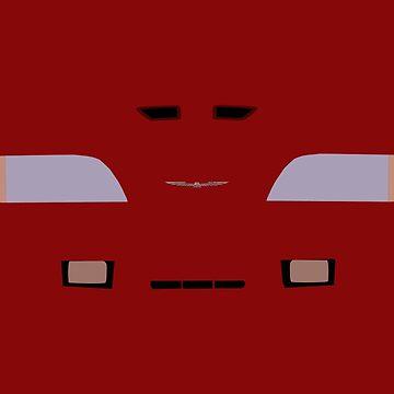 Thunderbird Turbo Coupe by DaftRyosuke