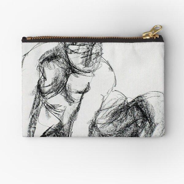Figure Drawing Zipper Pouch