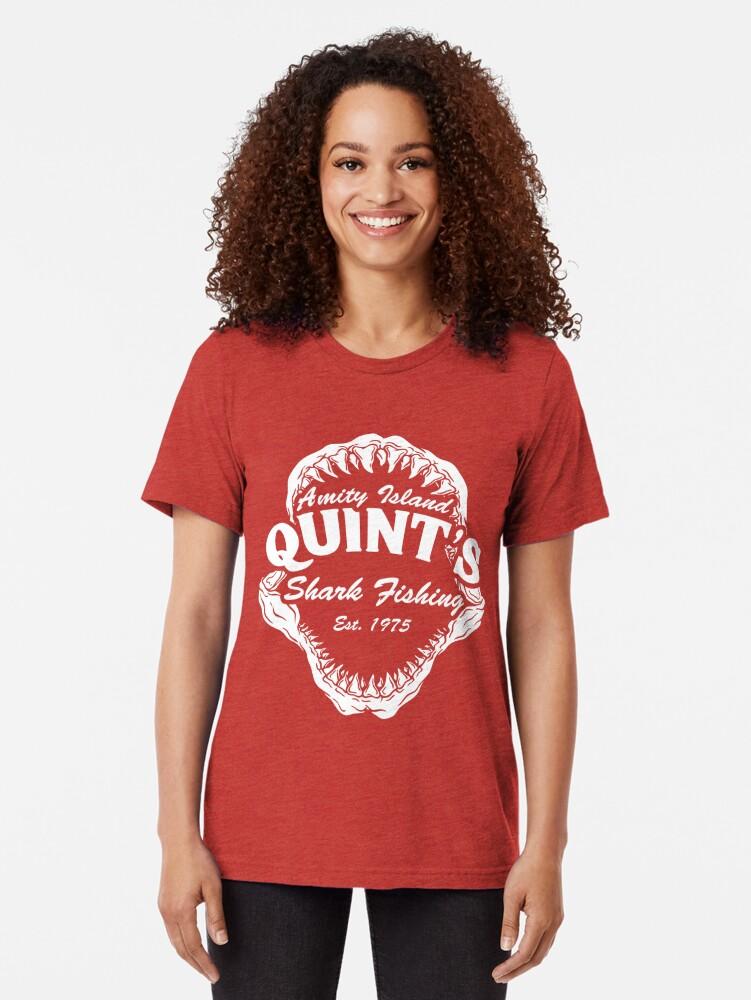 Alternative Ansicht von Haifischfischen Vintage T-Shirt
