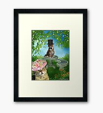 You Had Me At MEOW Framed Print