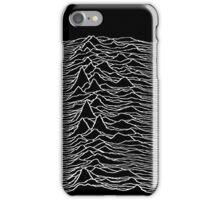 Joy Division - Unknown Pleasures iPhone Case/Skin