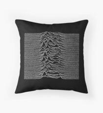 Joy Division - Unknown Pleasures Throw Pillow