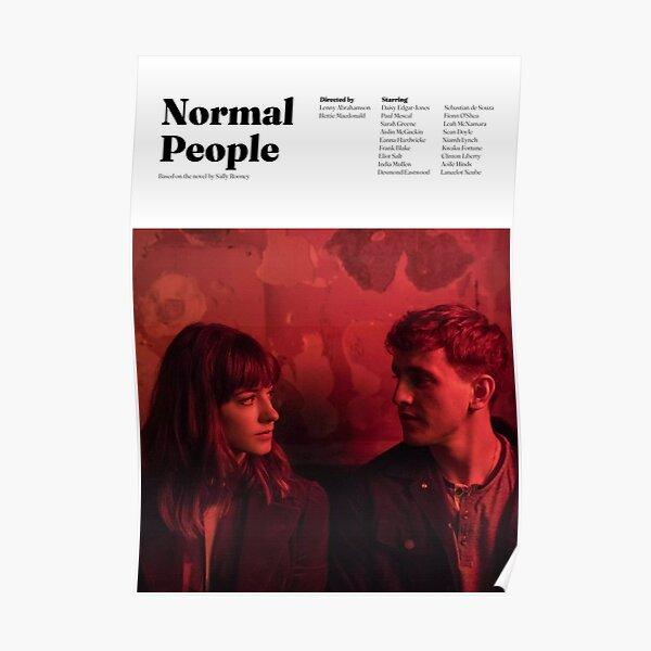 Normal People Minimal Poster Poster